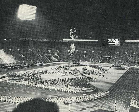 Закрытие Олимпиады-80, 1980 год. Изображение № 8.