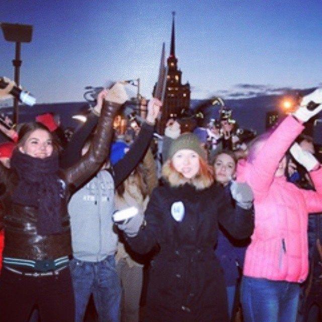 Акция «Час Земли» вМоскве вснимках Instagram. Изображение № 10.