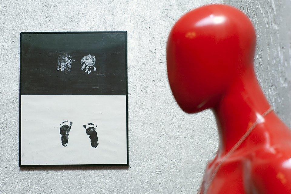 Отпечатки ступней и ладоней дочери Давыдова.. Изображение № 42.