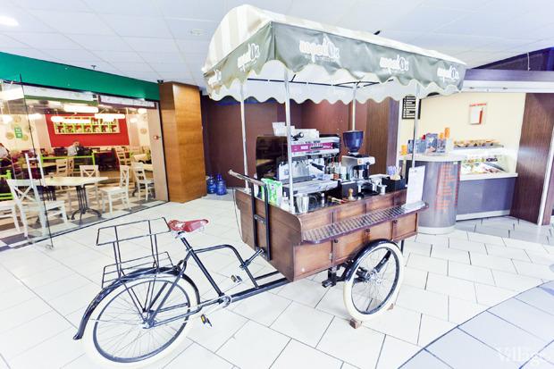 В Киеве открываются велокофейни. Изображение № 1.