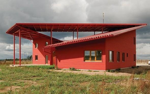 Номинация «Деревянный дом года» — штаб строительства курорта «Золотое кольцо». Изображение № 12.