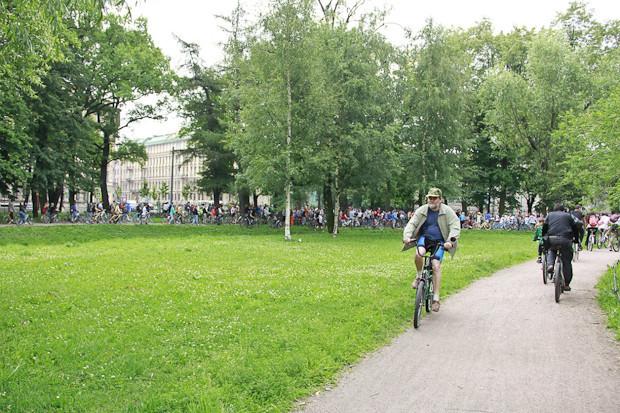 Фоторепортаж: Велопробег «За велогород». Изображение № 3.