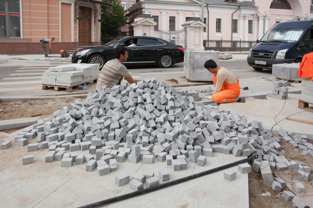 Её раскопали: Пешеходные улицы Москвы за месяц до открытия. Изображение № 2.