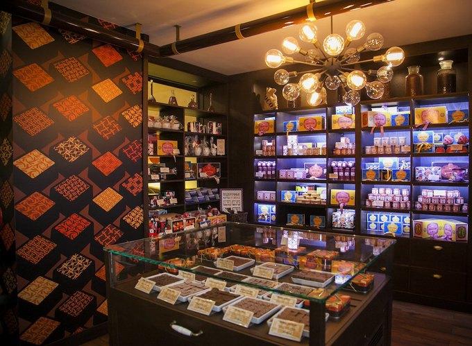 В«Метрополисе» открывается шоколадный бар Max Brenner. Изображение № 3.