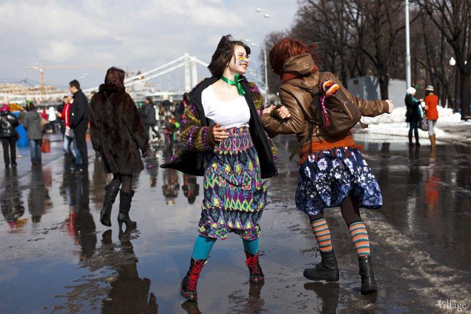 Люди в городе: Участники парада вчесть Днясвятого Патрика. Изображение № 19.