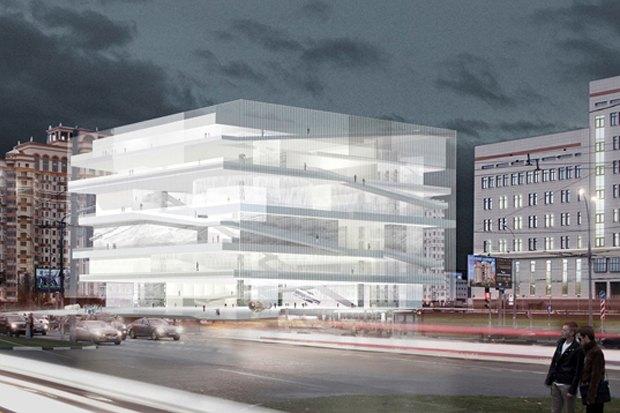 Представлены шесть проектов нового здания Политехнического музея. Изображение № 2.