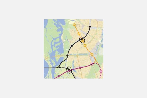 Четвёртая линия: Все проекты метро на Троещину. Зображення № 24.
