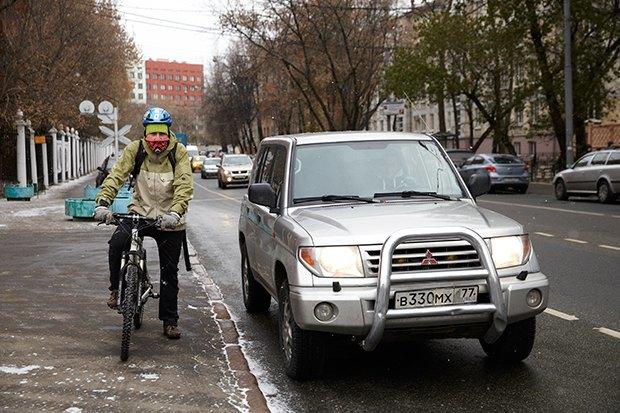 В диких условиях: Велосипед против автомобиля в –10 ˚C. Изображение № 3.