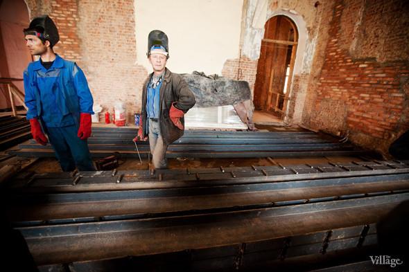 Фоторепортаж: Реконструкция Главного штаба изнутри. Изображение № 25.