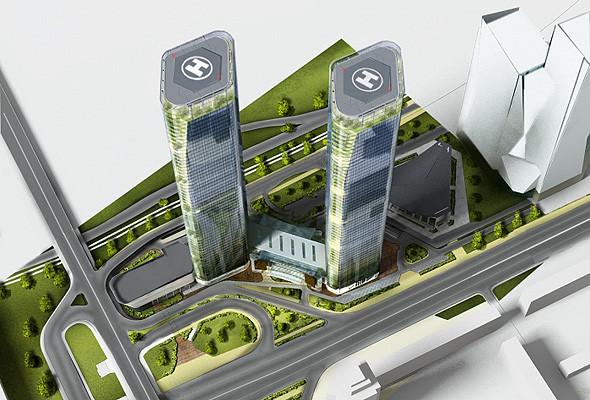 В Киеве построят небоскрёб выше «Паруса». Зображення № 2.