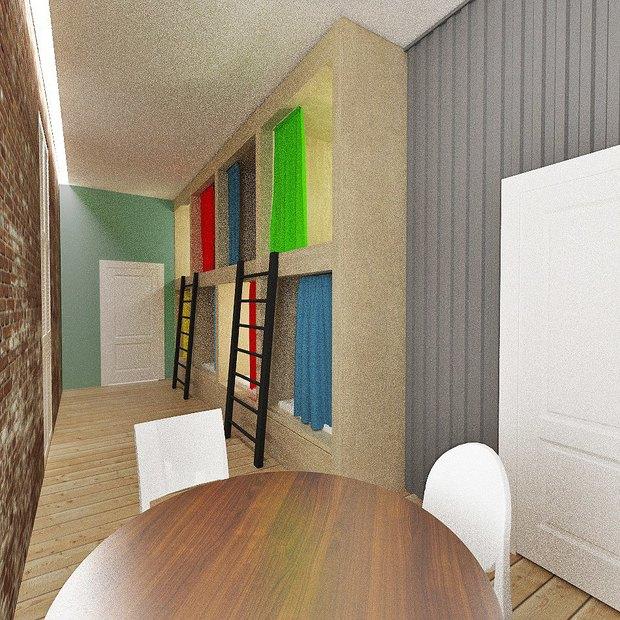 В кластере «Архитектор» открылся хостел. Изображение № 3.