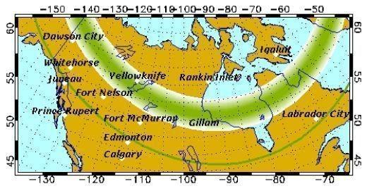 Изображение 13. Солнечный ветер. Несколько мест для любителей наблюдать полярное сияние из своего окошка.. Изображение № 20.