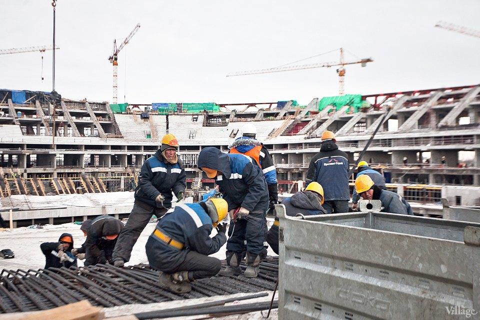 Фоторепортаж: Стадион «Зенит-Арена» изнутри. Изображение № 14.