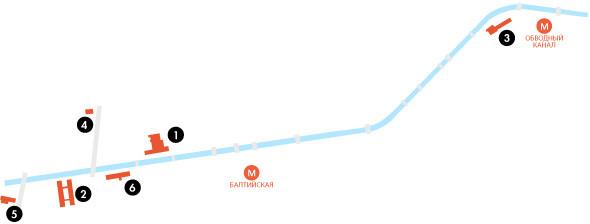 Изображение 240. Группа «Фабрика»: Гид по арт–пространствам Обводного канала.. Изображение №5.
