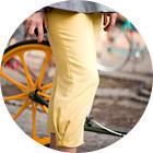С твидом на город: Участники первого «Ретрокруиза»— о своей одежде и велосипедах. Изображение №54.