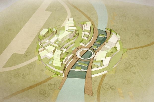 Для Петербурга разработали проекты эко отеля, банка и досугового центра. Изображение № 11.