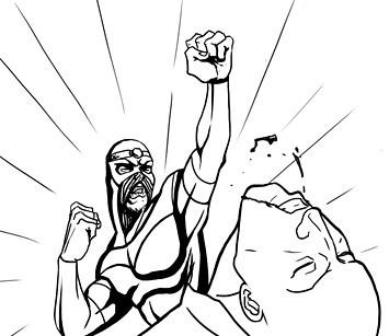 Хранители: Городские супергерои и антигерои. Изображение №11.
