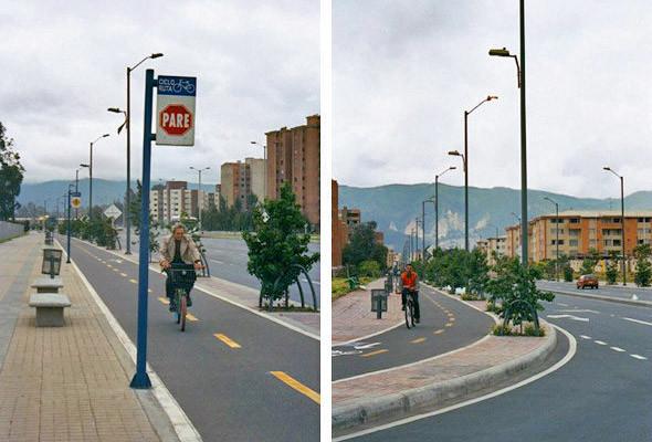 Сначала пешеходы, затем велосипедисты и в последнюю очередь машины. Так, по убеждению Энрике Пеньялосы, должны быть расставлены приоритеты в хорошем городе.. Изображение № 7.