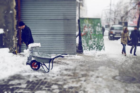 Белым по серому: Итоги снежного января в Киеве. Зображення № 13.