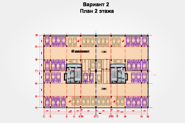 В Медведкове появится дом с автостоянкой на первых этажах. Изображение № 4.