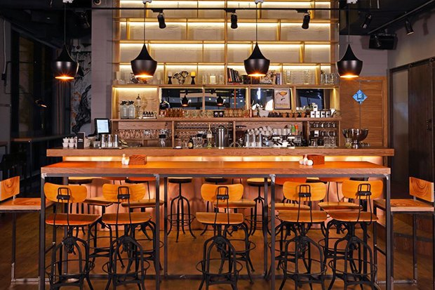 Бар и ресторан The Box. Изображение № 44.
