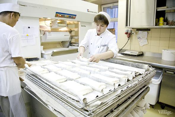 Фоторепортаж с кухни: Как пекут хлеб в «Волконском». Изображение № 14.