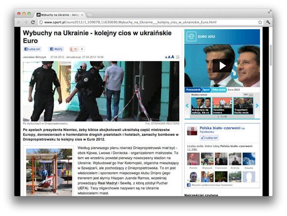 Взгляд со стороны: Иностранные СМИ о Евро, взрывах и Украине. Зображення № 1.