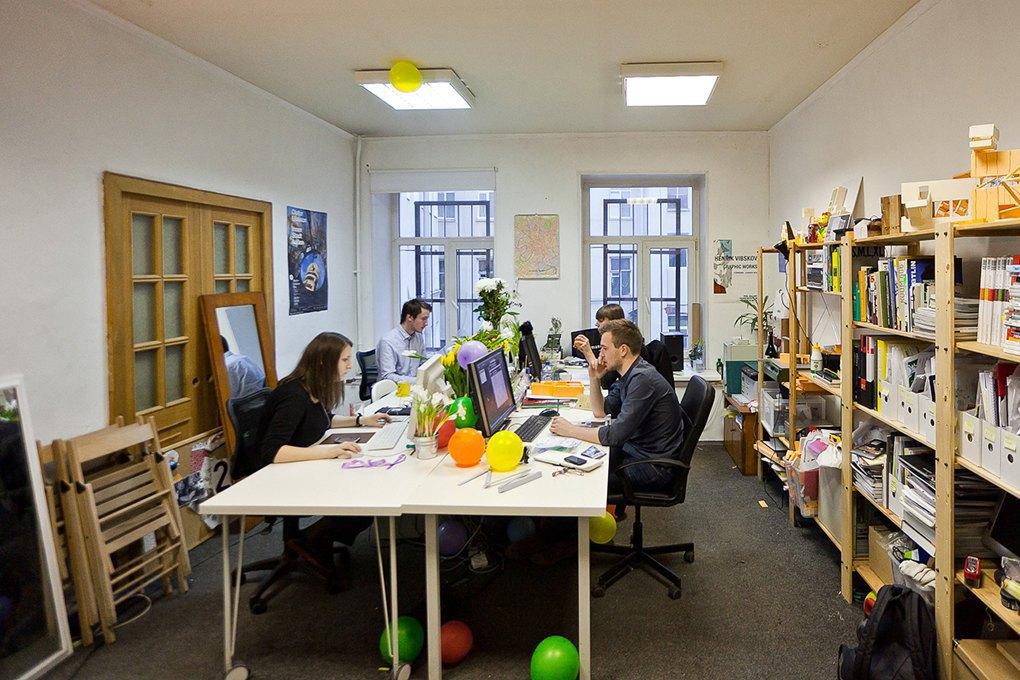 Архитектурный ансамбль: Как четверо друзей по университету создали бюро Rhizome Group . Изображение № 3.