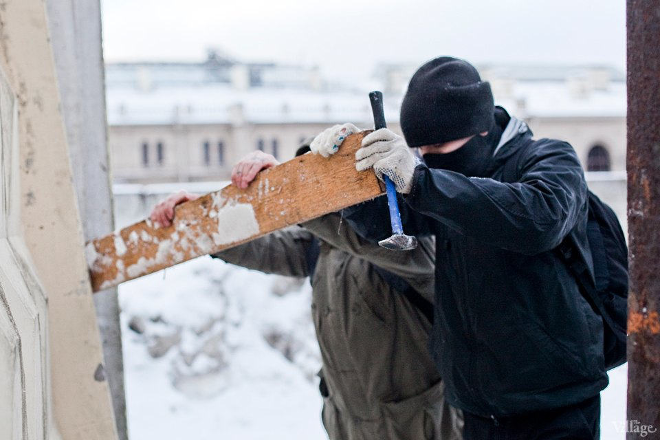 Станция прибывания: Как активисты защищают здания Варшавского вокзала. Изображение № 32.