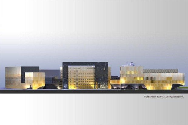 Фондохранилище Эрмитажа построят по проекту Рема Колхаса. Изображение №4.