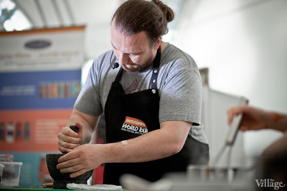 Omnivore Food Festival: Иван Шишкин готовит пеммикан и черемуховые полбяные пряники. Изображение № 38.
