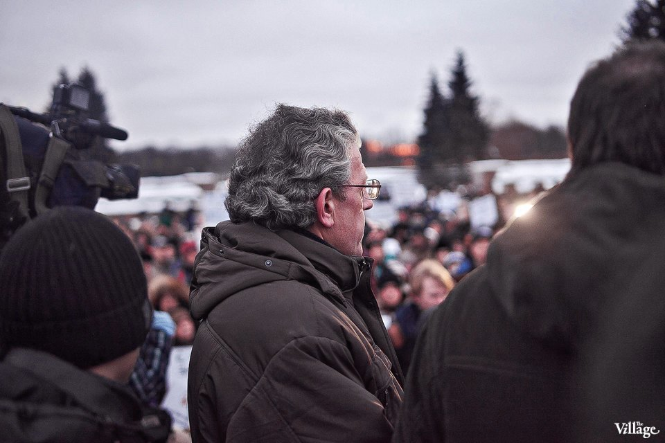 Фоторепортаж: митинг взащиту Городской клинической больницы №31. Изображение № 2.