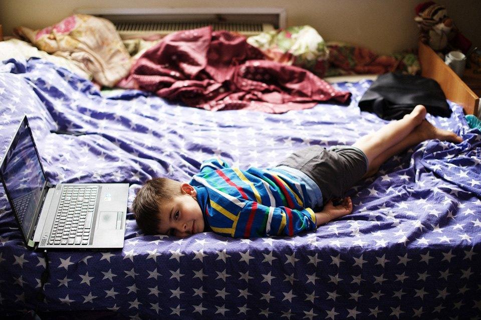 Украинские беженцы  в общежитии вПечатниках. Изображение № 4.