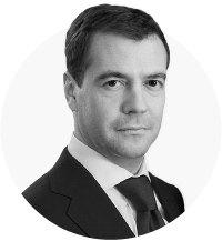 Цитата дня: Медведев не почувствовал облегчения транспортной ситуации в Москве. Изображение №1.