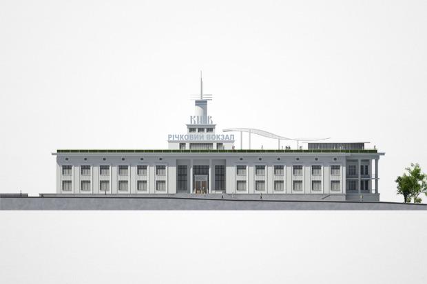 Реконструкция: Как будет выглядеть Речной вокзал. Изображение № 4.