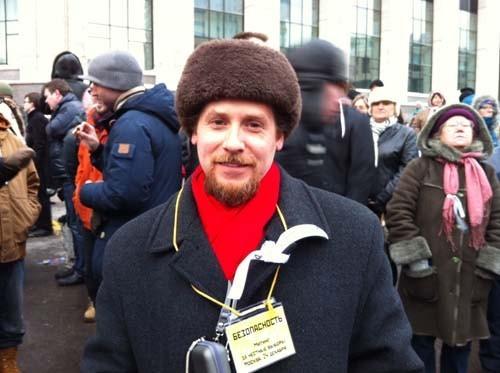 Прямая трансляция: Митинг «За честные выборы» на проспекте академика Сахарова. Изображение № 61.