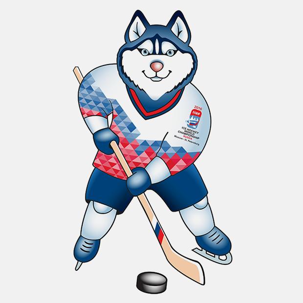 Талисман чемпионата мира по хоккею 2016 года. Изображение № 1.