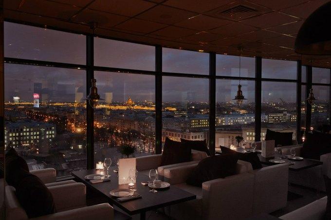 На Васильевском острове открылся панорамный ресторан «Я люблю...» . Изображение № 1.