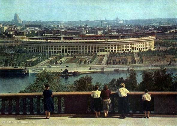 Стадион Лужники, 1956 год. Изображение № 5.