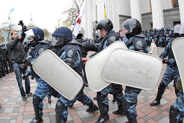Copwatch: Действия милиции на акции «Вперёд!» возле Верховной рады. Зображення № 15.