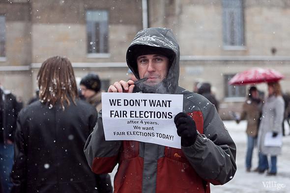 Два санкционированных митинга в Петербурге собрали 2 500 человек. Изображение № 47.
