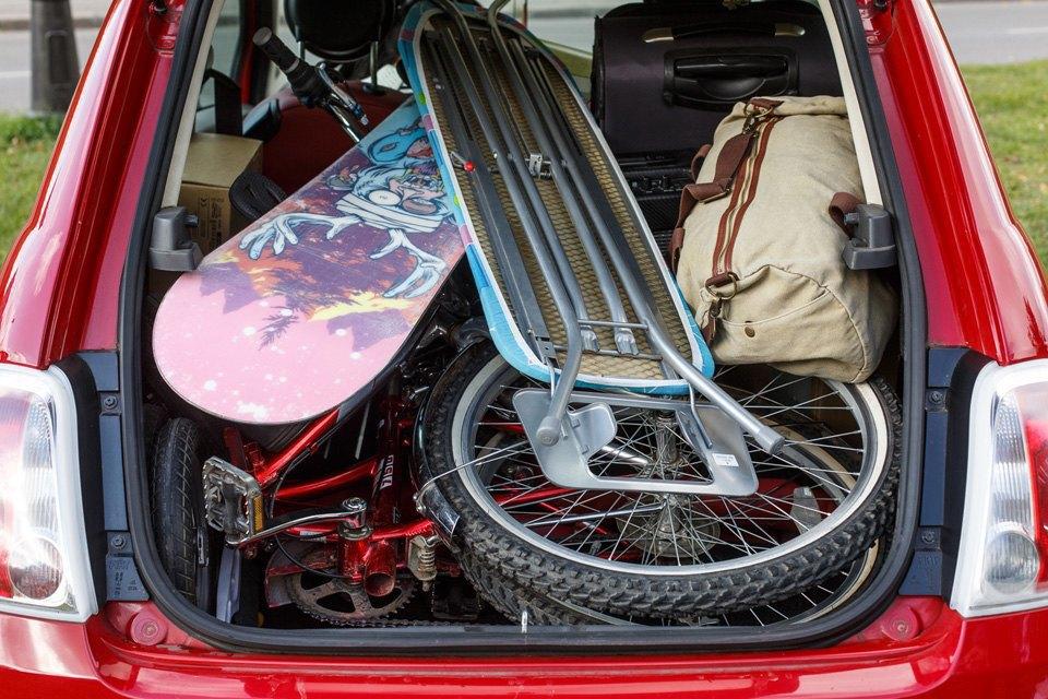 Диван, чемодан, саквояж: Что влезет вгородскую малолитражку. Изображение № 8.
