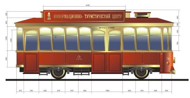 В парке Шевченко появится трамвай c Wi-Fi. Зображення № 1.