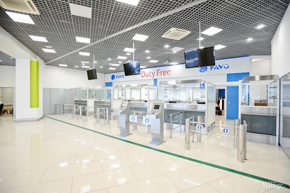 Фоторепортаж: Новый терминал аэропорта Киев — за день до открытия. Зображення № 39.