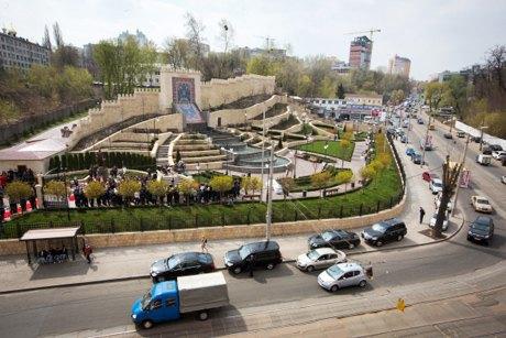 На Глубочицкой открылся новый сквер . Изображение № 2.