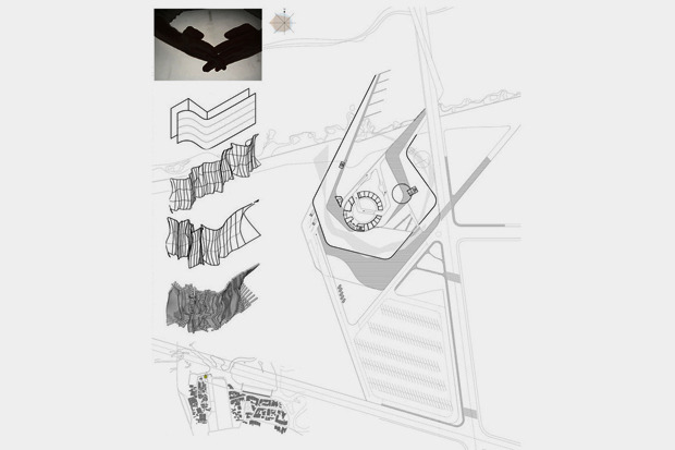 На бумаге: 8 нереализованных архитектурных проектов в Киеве. Зображення № 44.