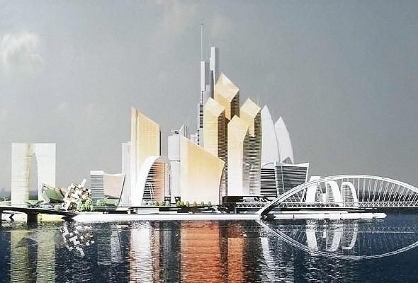 В Киеве хотят построить деловой центр «Киев-сити» и аналог Силиконовой долины — парк Bionic Hill. Изображение № 14.