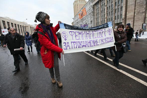 Митинг «За честные выборы» на проспекте Сахарова: Фоторепортаж, пожелания москвичей и соцопрос. Изображение № 8.