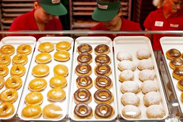 Саша Боярская опончиковой Krispy Kreme. Изображение № 6.