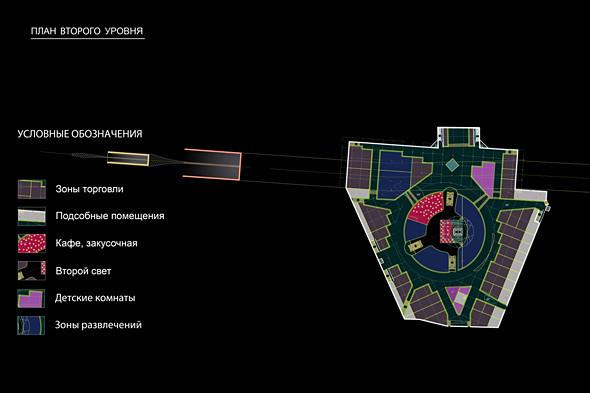 Проект подземного уровня площади. Изображение № 16.